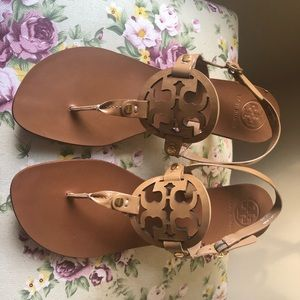 Tory Burch Luggage Sandals